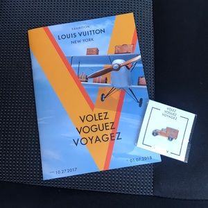 Limited Edition: Louis Vuitton Exhibit Book & Pin!